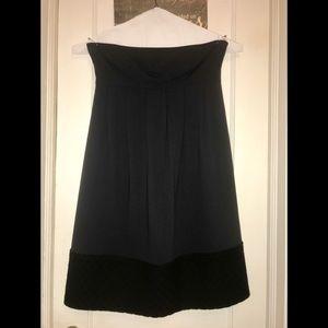 Vera Wang 100%Wool and Silk lining strapless dress